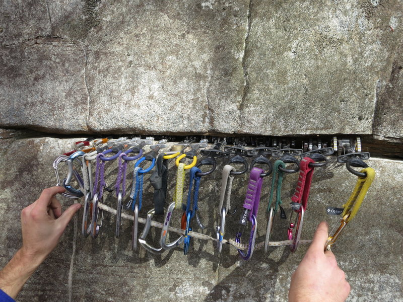 "Rock Climbing Photo: The ""put anything you want in it"" horizo..."