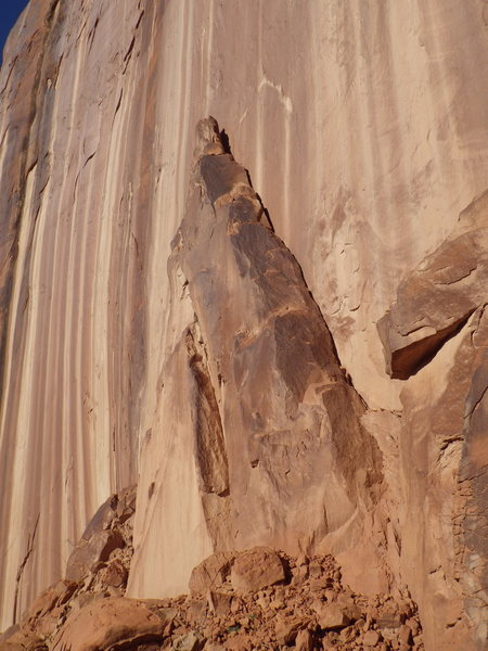 Rock Climbing Photo: Easy Ramp
