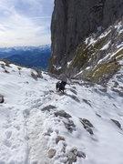 Rock Climbing Photo: snowball catcher