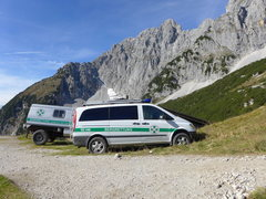 Rock Climbing Photo: SAR ready for a busy weekend on the via ferrata or...