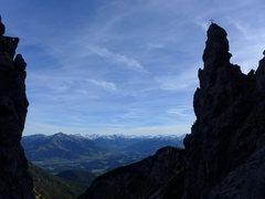 Rock Climbing Photo: notch on the Jubiläumssteig via feratta
