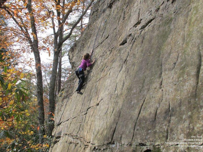 Rock Climbing Photo: Amy