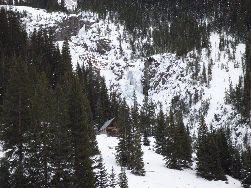 Rock Climbing Photo: Burns Gulch, 11-2-13.