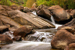 Rock Climbing Photo: South Boulder Creek on a fine fall day.