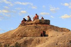 Rock Climbing Photo: Watching the sun rise