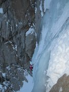 Rock Climbing Photo: Great White Icicle (LCC)