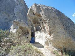 Rock Climbing Photo: Sweet boulders next to Elephant Rock