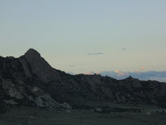Rock Climbing Photo: Steinfell's Dome at dusk