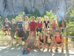 Rock Climbing Photo: The crew from Washington