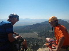 Rock Climbing Photo: Joe and Franklin