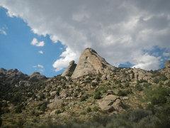 Rock Climbing Photo: Sinocranium far off