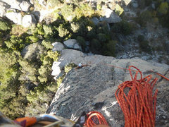Rock Climbing Photo: Jordan led this sweet multi pitch. Me and Jacob fo...