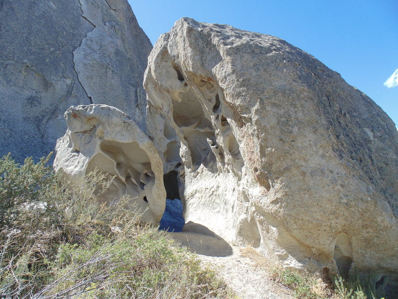Rock Climbing Photo: Boulders at Elephant Rock East