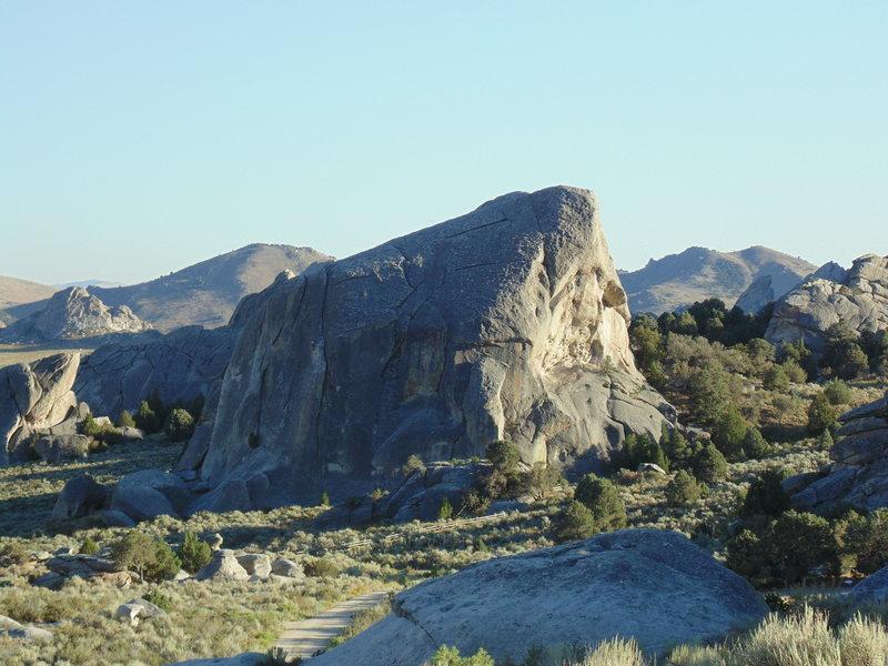 Rock Climbing Photo: Elephant Rock at sun set