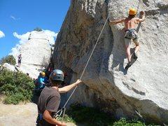 Rock Climbing Photo: Little Problem 5.9