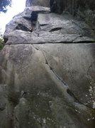 Rock Climbing Photo: The face of Harpoon