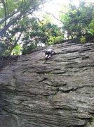 Rock Climbing Photo: Chris TRing