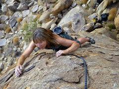 Rock Climbing Photo: Felicia Terry Dances on Fire!