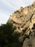 Rock Climbing Photo: The Saphir ridgeline, as seen from the beach at En...