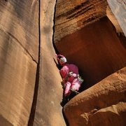 Rock Climbing Photo: Halloween weekend, climbing wavy gravy in a bunny ...
