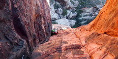 Rock Climbing Photo: The 2nd and 4th pitches are good like everyone is ...