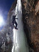 Rock Climbing Photo: Pitch 1.