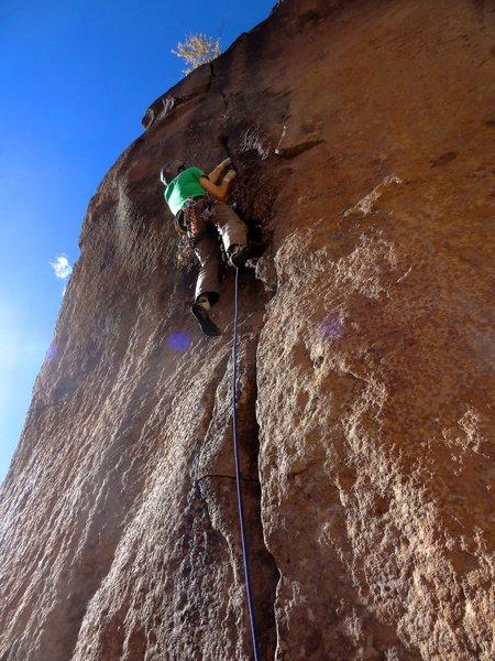 Rock Climbing Photo: Russian Jenga butt shot. October 2013