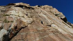 Rock Climbing Photo: Crystalean