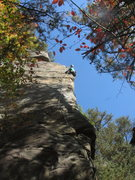 Rock Climbing Photo: Ian lovin' it.