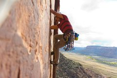 Rock Climbing Photo: Yet another photo of someone climbing Blue Sun on ...