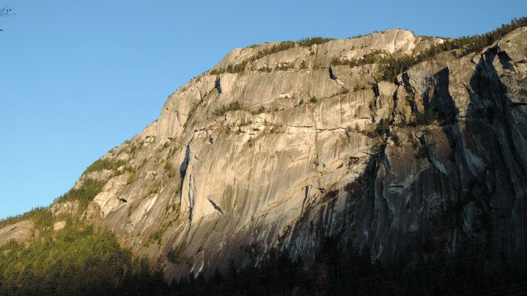 Rock Climbing Photo: The Stawamus Chief