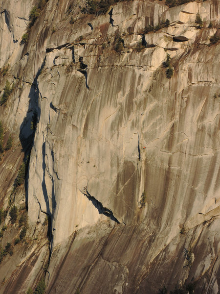 Rock Climbing Photo: Climbers on Uncle Ben's and The Grand Wall