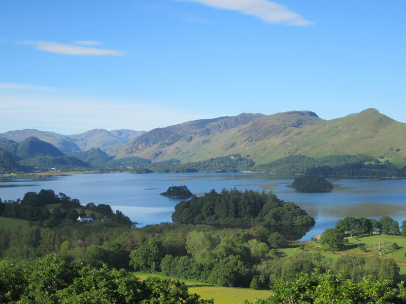 The Borrowdale Valley, English Lake District. Best airport to reach this area from US is fly to Manchester in the north of England.