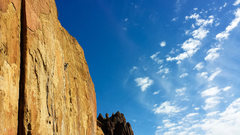 Rock Climbing Photo: Morning Glory Wall