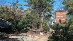 Rock Climbing Photo: If you're hiking up from the lower parking lot, ma...