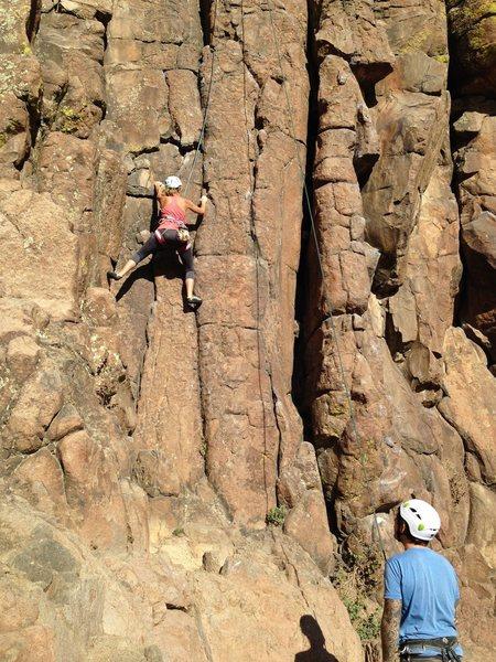 Rock Climbing Photo: Table Top, Golden, CO