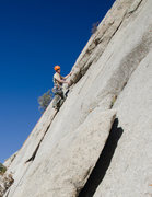Rock Climbing Photo: Starting to groove