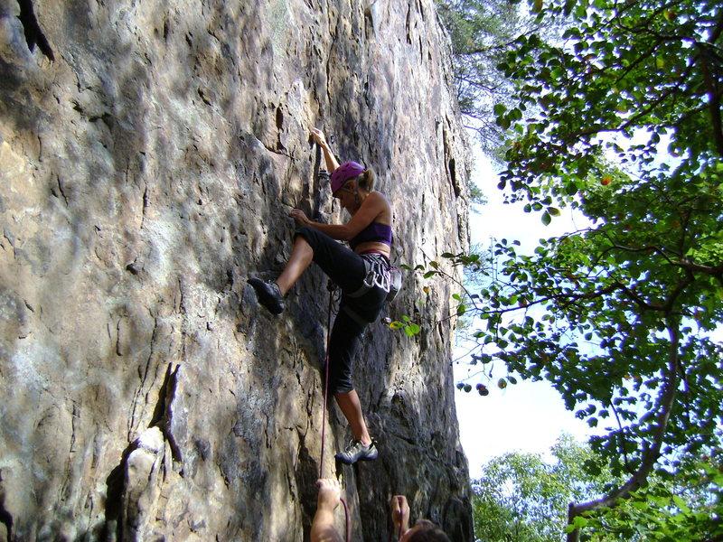 Rock Climbing Photo: Red pointing Mammplitude