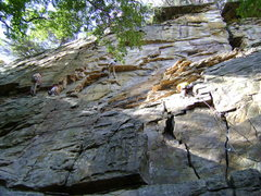 Rock Climbing Photo: Hanging out in the Jimmywood area