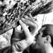 Rock Climbing Photo: Dave's Problem V3