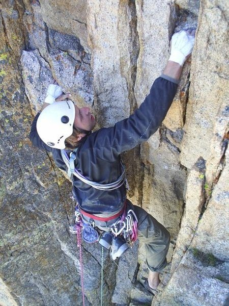 Rock Climbing Photo: pervertical sanctuary, thanks pete