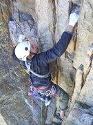 Rock Climbing Photo: pervertical sanctuary, thanks pete