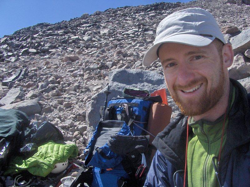 Rock Climbing Photo: Rainer, Kautz Glacier Route @ ~ 10k ft