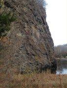 Rock Climbing Photo: getting ready to Battle T-Rex