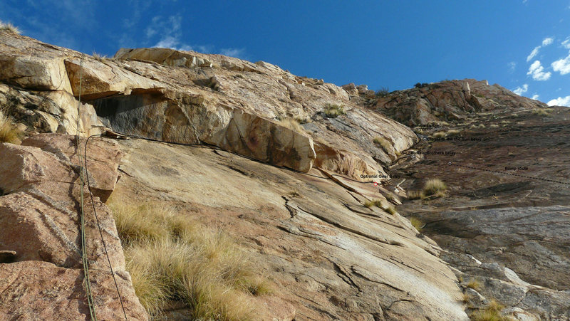 Rock Climbing Photo: Arching Out