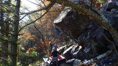 Rock Climbing Photo: To the lip!