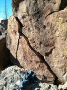 Rock Climbing Photo: Hit Man.