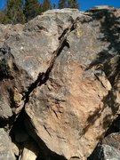 Rock Climbing Photo: Mulligan.