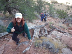 Rock Climbing Photo: on approach