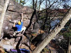 Rock Climbing Photo: Peaches.